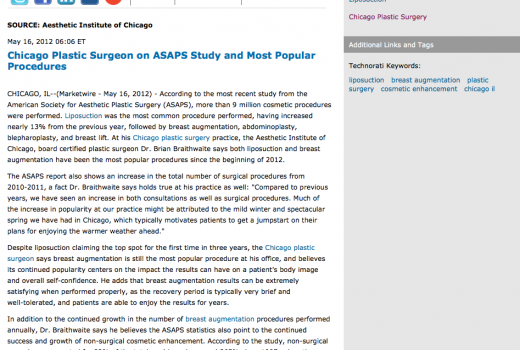 plastic,surgeon,surgery,asaps statistics,breast augmentation,liposuction,chicago il