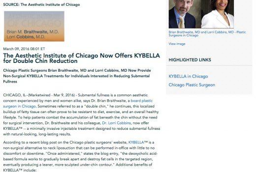 Dr. Lorri Cobbins and Dr. Brian Braithwaite introduce KYBELLA.